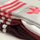 Thumbnail: Adidas Logo Sock High 3 Pack White/Red/Burgundy