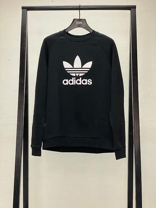 Adidas Crew Logo Sweat Black