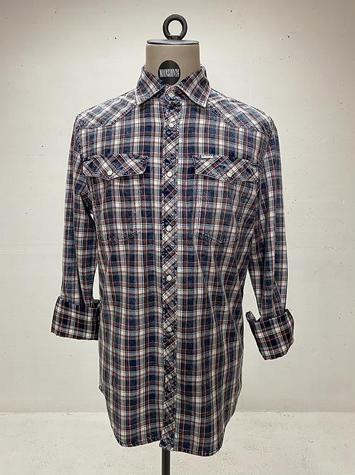 G-Star Raw Indigo Check Shirt