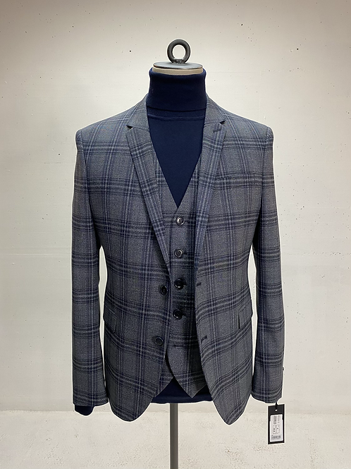 Drykorn Blazer Grey Check
