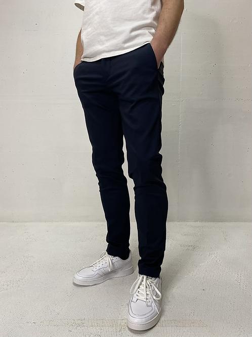 Drykorn Stretch Pants Plain Navy