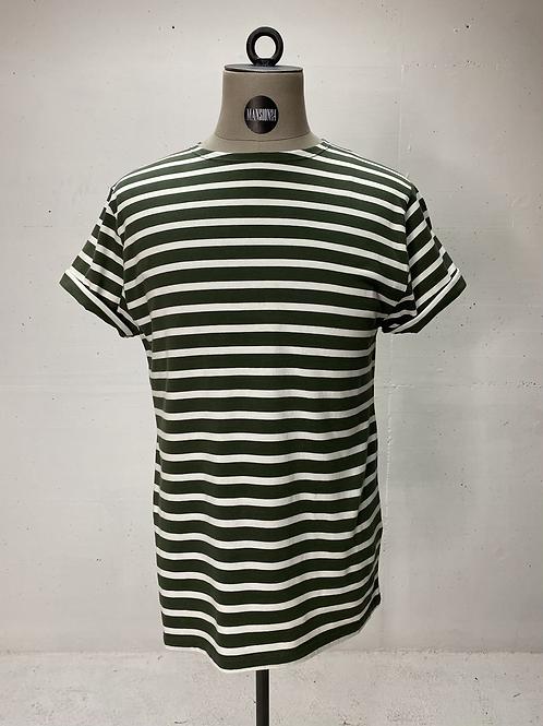 Klitmøller Stripe T Green