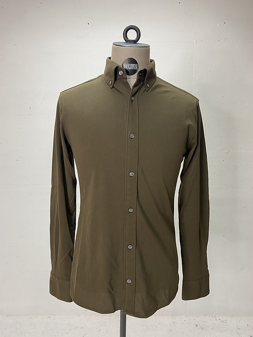 T of S Dressed Stretch Shirt Army Green