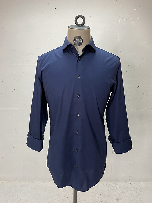 Drykorn Dressed Stretch Shirt Navy