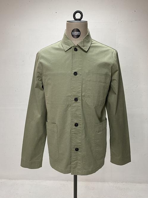 DENHAM Pocket Shirt Army Green