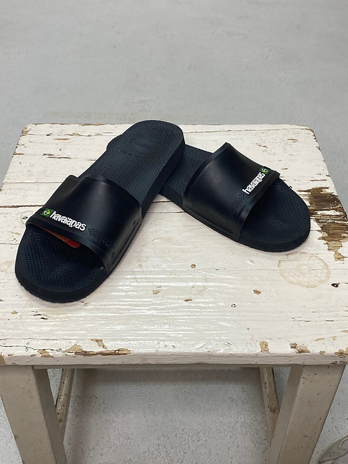 Havaianas Slide Brasil Black