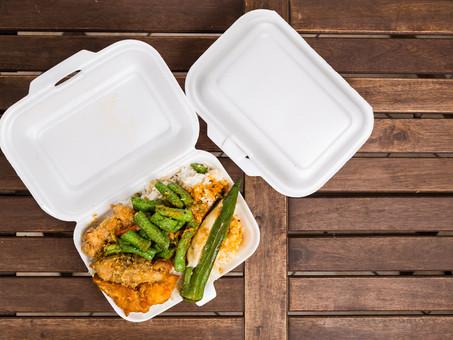อันตรายจากกล่องโฟมบรรจุอาหาร