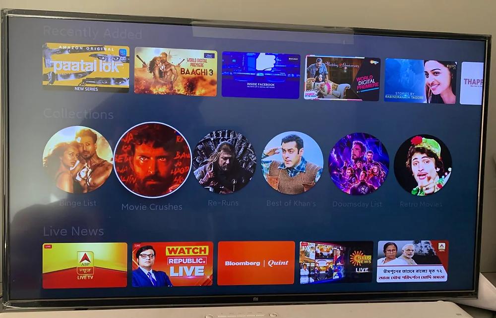 Mi TV Tetra Teqnix