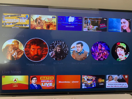Mi TV Models Get New 'Collections' Feature in India Highlighting Curated Content
