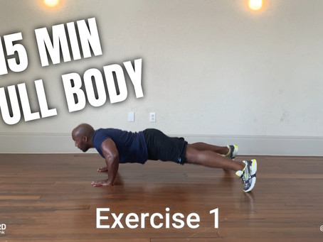 Home Workout Series (3/3): 15 Minute - Full Body High Intensity