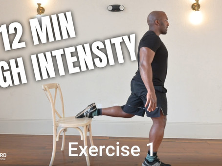 Home Workout Series (1/3): 12 Minute - Lower Body High Intensity