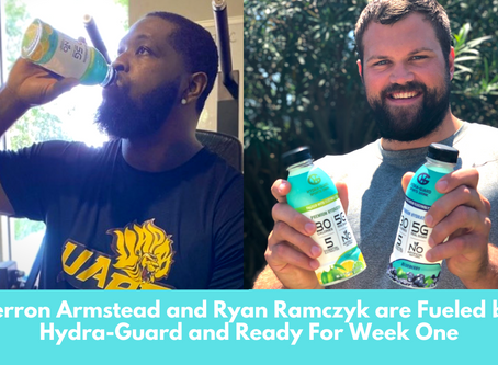 NFL's Best OT Duo Terron Armstead and Ryan Ramczyk are Fueled by Hydra-Guard and Ready For Week One