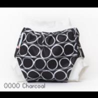 'OOOO Charcoal' Bambooty Swim Nappy