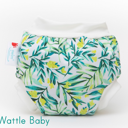 'Wattle' Bambooty Swim Nappy