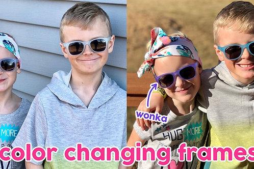 Junior 'Wonka Changing' Sunglasses