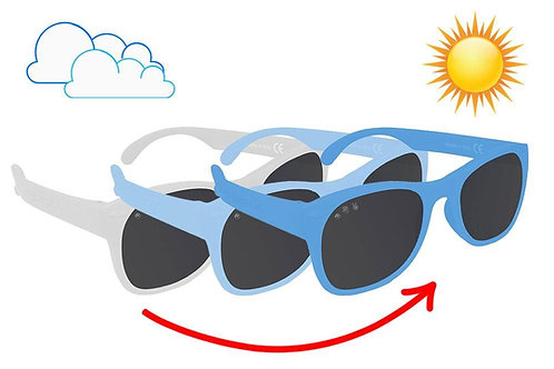 Baby 'Wonka Changing Blue' Sunglasses