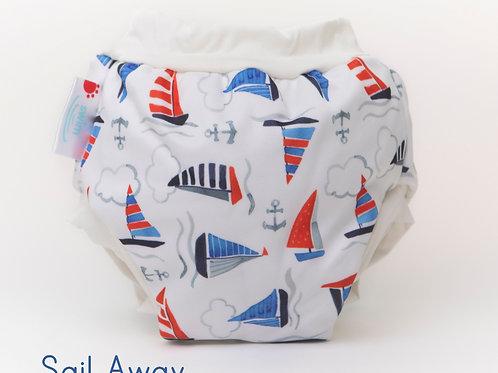 'Sail Away' Bambooty Swim Nappy