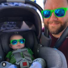 Adult 1-tone (Mirror Lens) Polarised Sunglasses