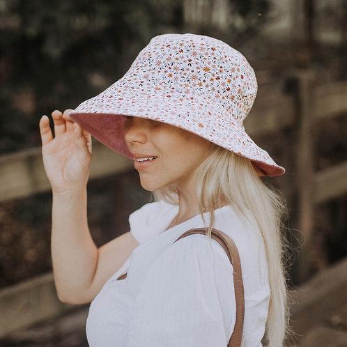 Ladies Sun Hat 'Fleur-Rosa'