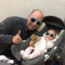 Adult 2-tone Polarised Sunglasses