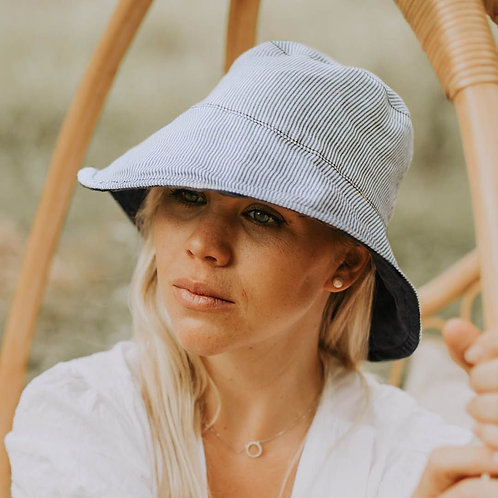 Ladies Sun Hat 'Charlie-Indigo'
