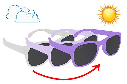 Baby 'Wonka Changing Purple' Sunglasses