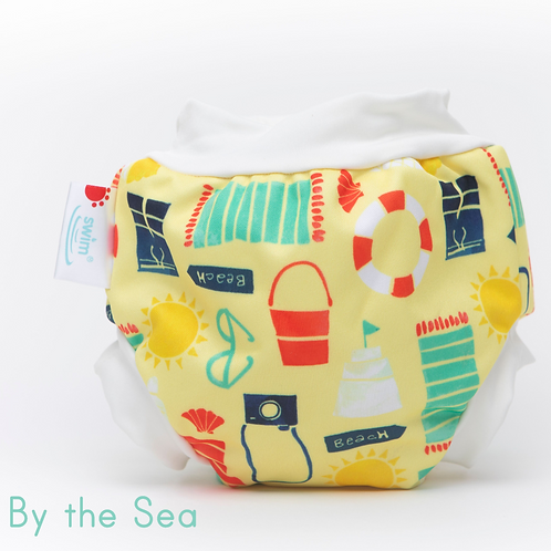 'By the Sea' Bambooty Swim Nappy
