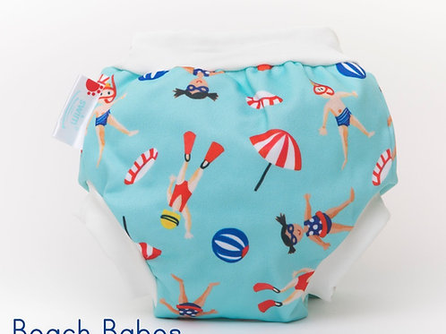'Beach Babes' Bambooty Swim Nappy