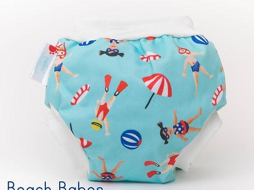 'Beach Babes' Bambooty Swim Nappy