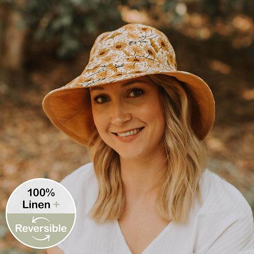 Ladies Sun Hat 'Marguerite-Maize'