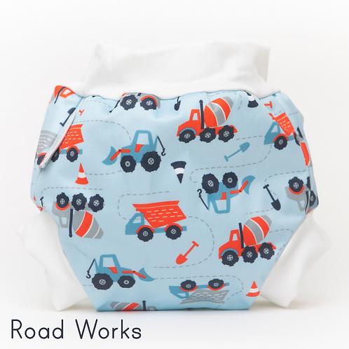 'Roadworks' Bambooty Swim Nappy