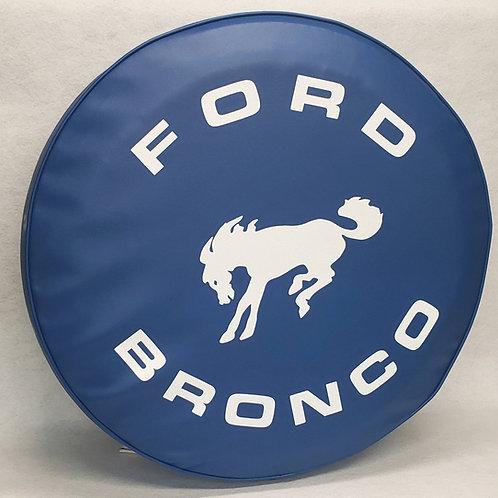 ABC Series - BLUE- Full Size Bronco - Heavy Vinyl Tire Cover