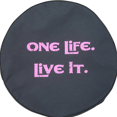 """SpareCover Brawny Series - One Life PINK 32"""""""