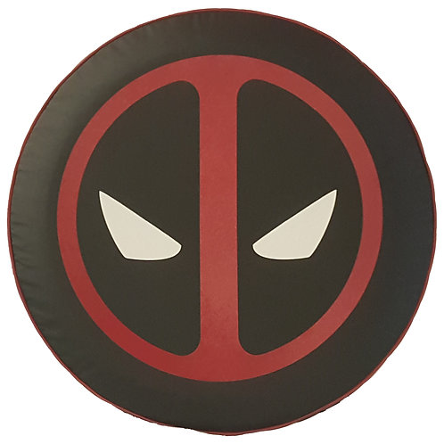 Brawny Series - Dead Pool - Heavy Black Denim Vinyl Tire Cover