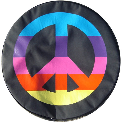 SpareCover Brawny Series - Peace Sign Multi 32""