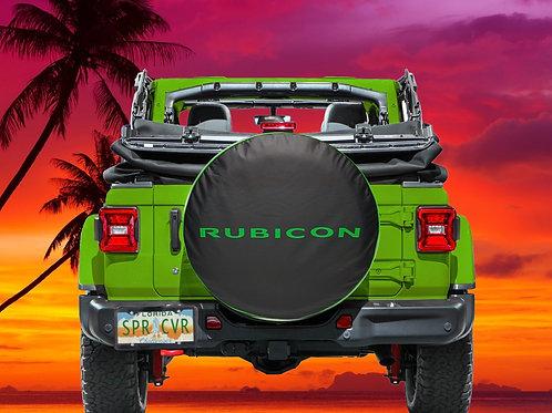 RUBICON GREEN - Brawny Series  2018+  Jeep Wrangler JL Tire Cover