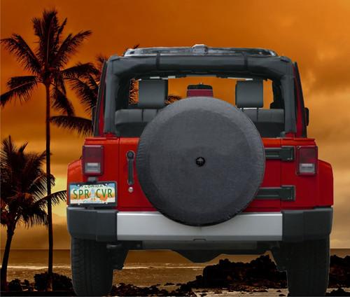 BLANK Brawny Series 2018+ Jeep Jl Tire Cover