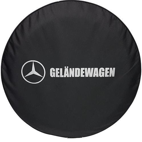 SpareCover - Brawny Series Mercedes Benz  Gelandewagen Logo on Black Denim T