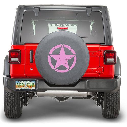 JL STAR PINK - Brawny Series  2018+  Jeep Wrangler JL  Tire Cover