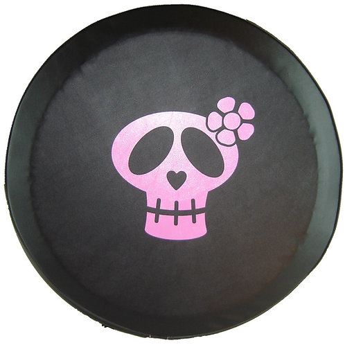"SpareCover ABC Series - Girly Skull 27"" PINK"