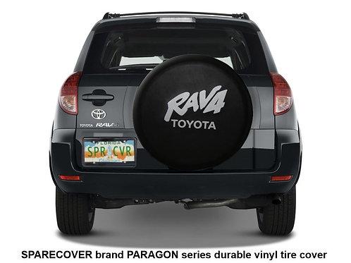 SpareCover - Paragon Series TOYOTA Rav4 Classic Black Vinyl Tire Cover