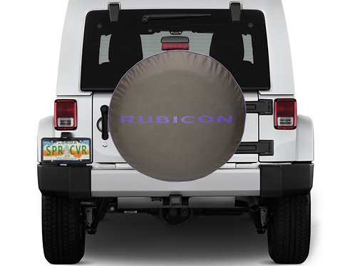RUBIICON  PURPLE - Brawny Series  2018+  Jeep Wrangler JL Tire Cover