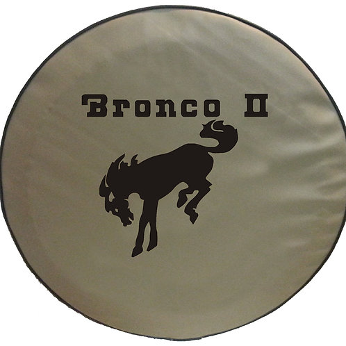Bronco II TAN ABC Series Tire Cover SpareCover  - Ford