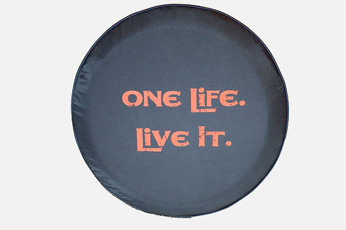 "Brawny Series -One Life ORANGE 30"" -"
