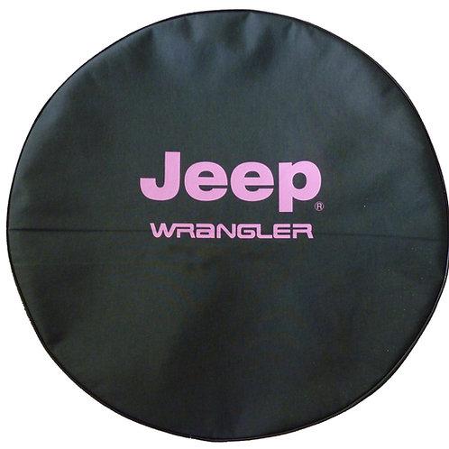 "SpareCover Brawny Series - Jeep Wrangler Pink 32"""