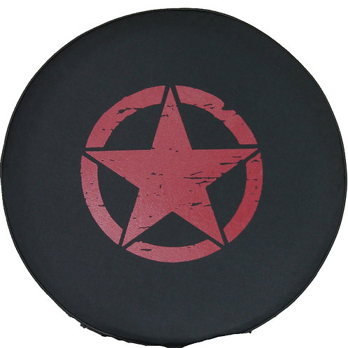 "SpareCover Brawny Series - Jeep Star 32"" RED"