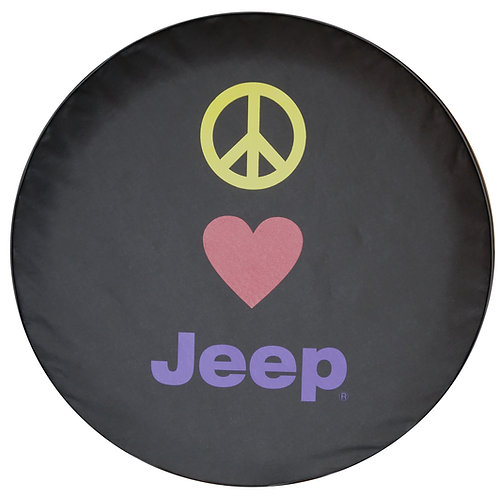 Brawny Series - Peace heart Jeep 30""