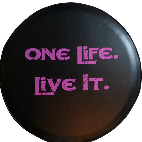 SpareCover ABC Series - One Life Live It PINK 27""