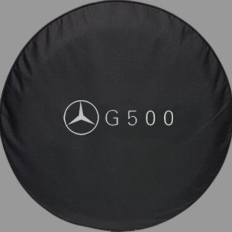 Brawny Series -Mercedes-Benz G-500 Heavy Denim Vinyl Tire Cover