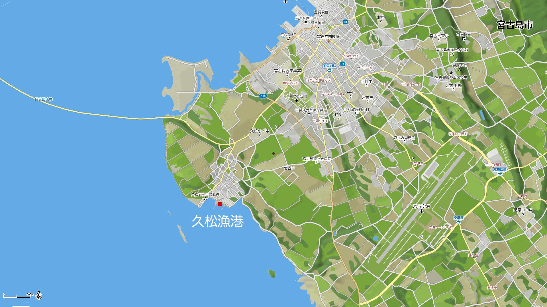 久松漁港地図
